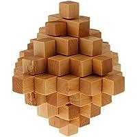 【ノーブランド品】中国伝統的 知的玩具 孔明ロック パイナップル型 子供 忍耐力を養い 楽しい