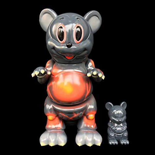 "【限定25体】Ron English × BlackBook Toy Mousezilla""Melt..."