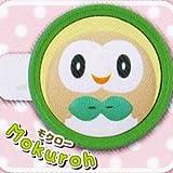 ポケットモンスターサン&ムーン ころまるカバンブローチ [2.モクロー](単品)