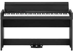 KORG電子ピアノ C1 Air ブラック ヘッドホン付属