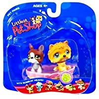 Littlest Pet Shop Pet Pairs: Boxer & Chow-Chow by Hasbro [並行輸入品]