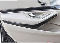 4pcs/set For Mercedes benz W222 S Class S320 2014-2017 Car-styling ABS Dark Wood Grain Interior Door Decotation Strips Trim
