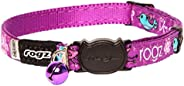 Rogz Fancycat Safeloc Cat Collar, Pink