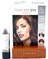 Cover Your Gray Stick Medium Brown 44 ml. (Pack of 6) (並行輸入品)