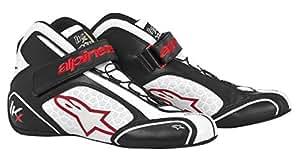 アルパインスターズ TECH 1-KX ブラック/ホワイト/レッド(123) 10サイズ レーシングシューズ レーシングカート・走行会用
