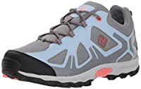 Columbia Girls' Childrens Peakfreak XCRSN Waterproof Hiking Shoe Monument Melonade 13 Regular US Little Kid [並行輸入品]