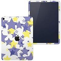 igsticker iPad Pro 12.9 inch インチ 専用 apple アップル アイパッド 2018 第3世代 A1876 A1895 A1983 A2014 全面スキンシール フル 背面 側面 正面 液晶 タブレットケース ステッカー タブレット 保護シール 人気 星 スター 模様 006973