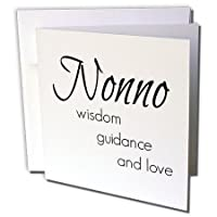 BrooklynMeme Sayings–Nonno知恵、ガイダンス、愛–グリーティングカード Individual Greeting Card
