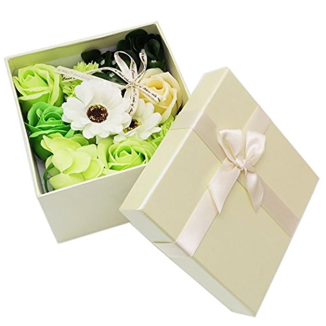 予約ウナギ結婚式5 COLOR BOX[ソープ フラワー]シャボン フラワー【クリーム 】