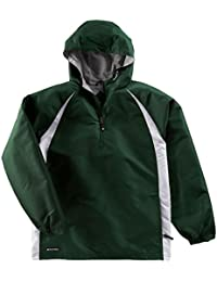 ハリケーンmicro-cord TMポリエステルプルオーバージャケットヘザージャージーライニングからHollowayスポーツウェア