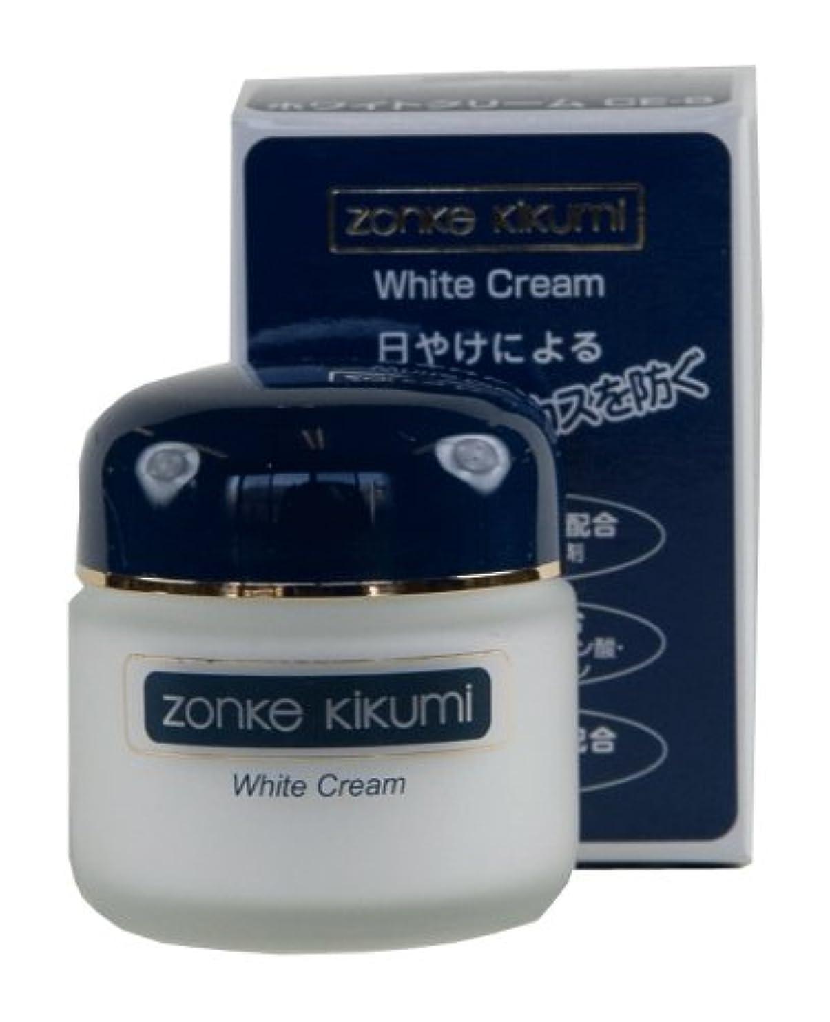 枕肌差別化するゾンケ ホワイトクリームCE8 35g