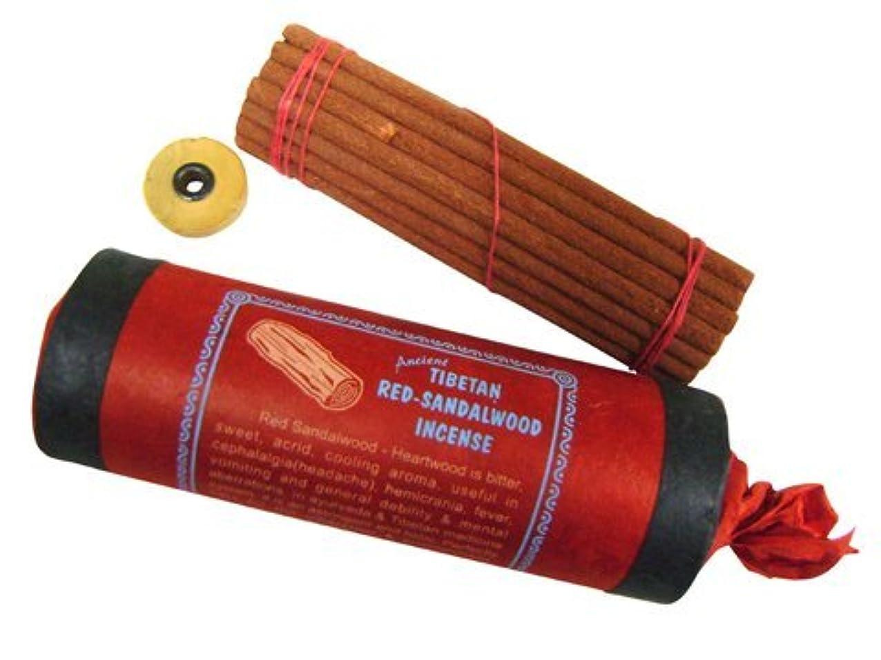 不毛のシーケンス咳NEPAL INCENSE 【TIBETAN RED-SANDALWOOD INCENSE レッドサンダルウッド】