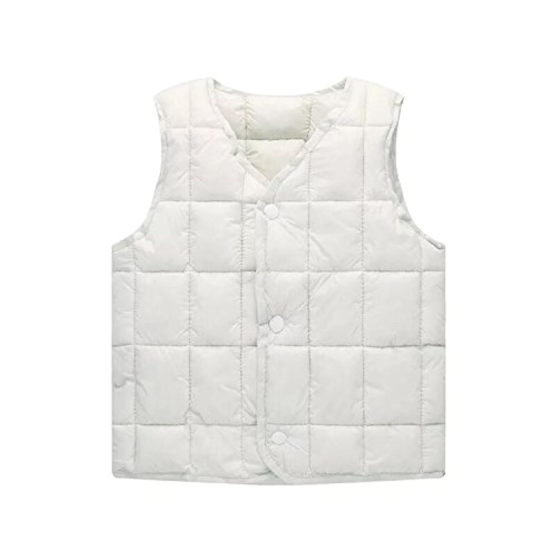 YW 子供 キッズベスト 女の子 男の子 中に着用する 暖かい ダウンコート軽量 ダウンウエスト 中綿 男女兼用 ダウン ベスト 秋冬 防寒