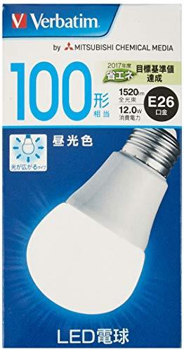 三菱ケミカルメディア LED電球 昼光色 E26 100W LDA12D-G/V6 三菱化学メディア