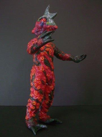 マーミット 通販限定 リアルソフビシリーズ ペロリンガ星人(ウルトラセブン) ソフビキット ガレージキット