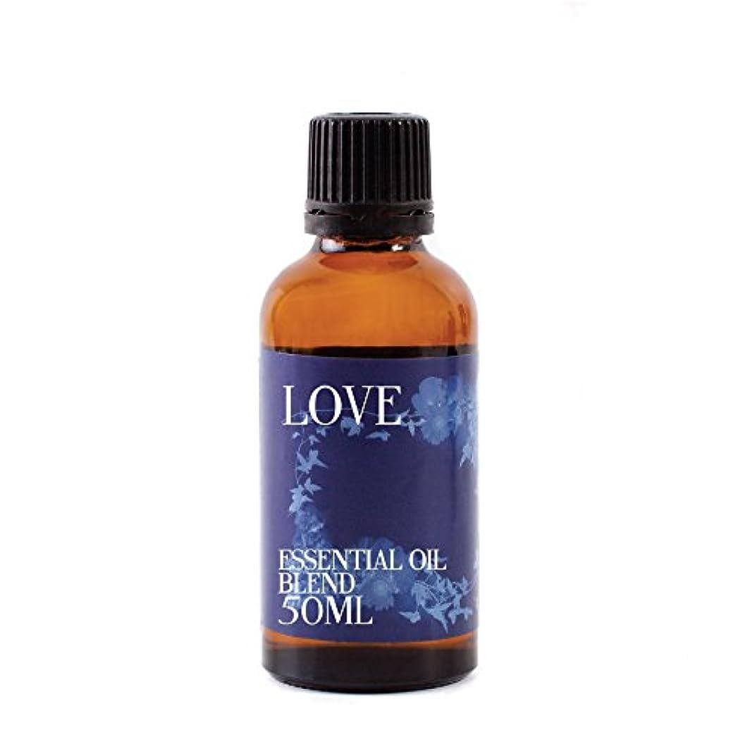 午後仕事に行くコンクリートMystic Moments   Love Essential Oil Blend - 50ml - 100% Pure