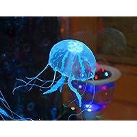 海月 究極の 癒しを あなたへ 吸盤でくっつく かわいい くらげ アクアリウム クラゲ シリコン 人工 水槽 金魚 熱帯魚 シームーン 3匹セット TASTE-SMND