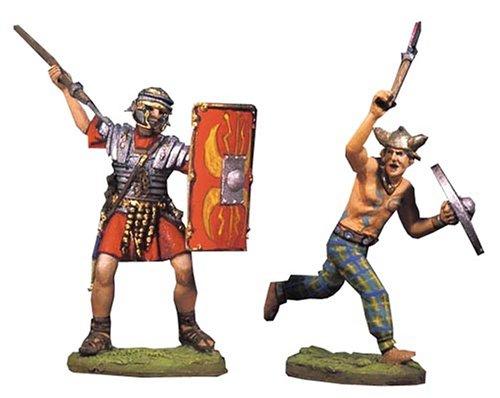 アンドレアミニチュアズ RA-017 Fighting Roman and Barbarian (IV)