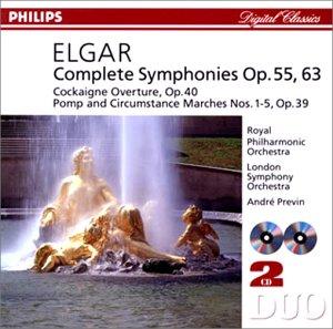 エルガー:交響曲第1番&第2番