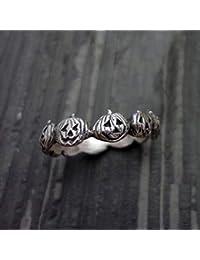HKUN 指輪 リング ジュエリー カボチャ ジュエリー ハロウィン 優れた工芸 華やか カジュアル 文芸 シンプル プレゼント
