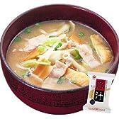 豚汁14gX30袋セット【アマノフーズのフリーズドライ味噌汁:日本国内製造】(素材の栄養を保ちつつ美味しさを封じ込めた)