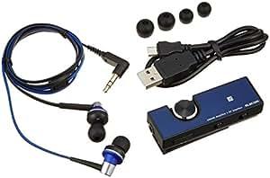 エレコム ブルートゥース レシーバ アンプ搭載 高音質 ブルー LBT-PHP500AVBU