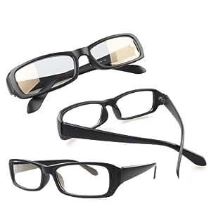 リマーク ジャパン 全5色 PCメガネ ブルーライトを約40%カット パソコン用メガネ ケース・レンズクロス付き (マットブラック)