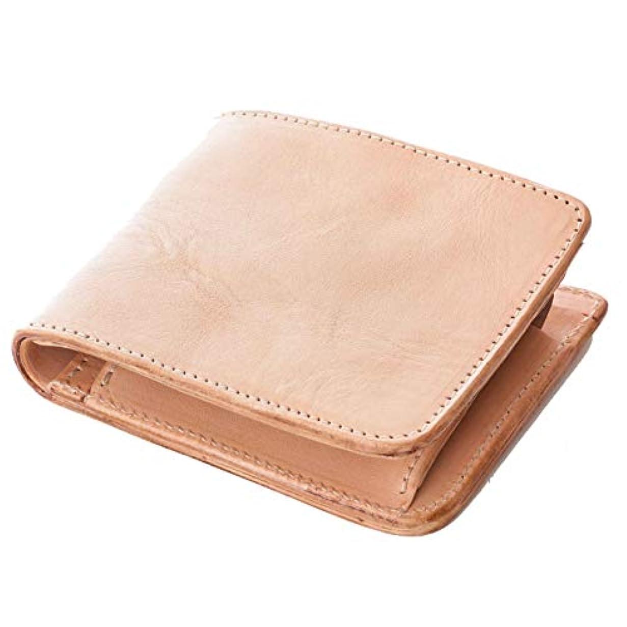 武装解除歴史コール[ダブルウッドジャパン] 財布 二つ折り 本革 日本製 革の質感が伝わる仕上げ「abba Short」
