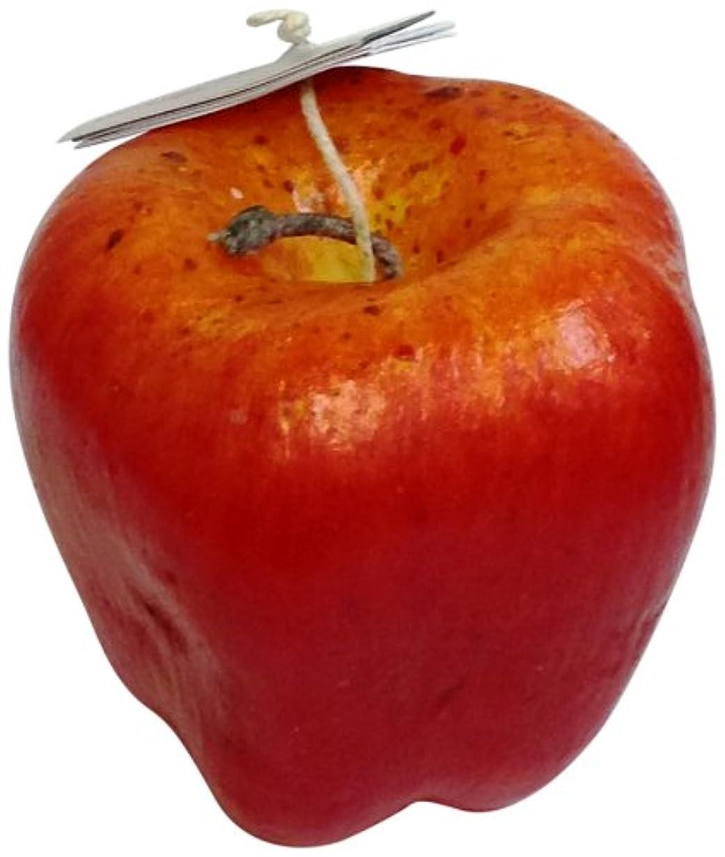 なかなか聖なるイブニングニミティッドフルーツキャンドル レッドアップル ラージ