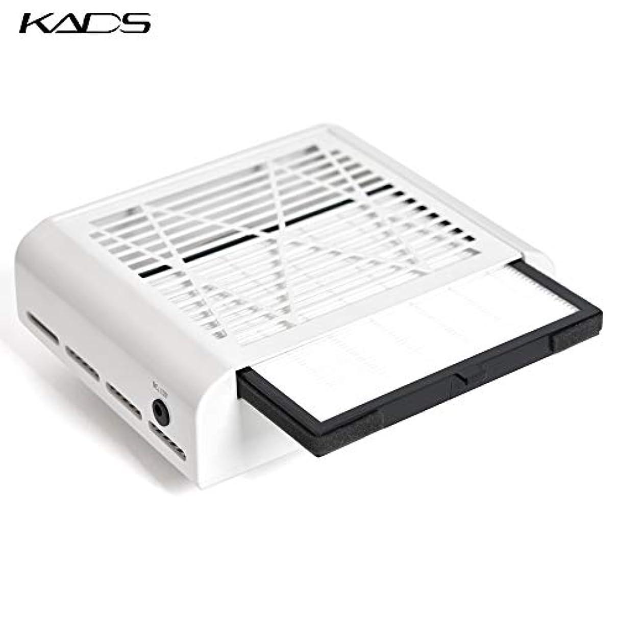 写真を撮るインレイアサートKADS ネイルダスト集塵機 ネイルダストコレクター サロンサクションダストコレクター ネイルダストクリーナー ジェルネイル機器 ネイルケア用