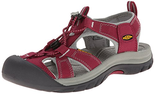 [キーン] KEEN Venice H2 Venice H2 1012238 (BEET RED/NEUTRAL GRAY/23.5)