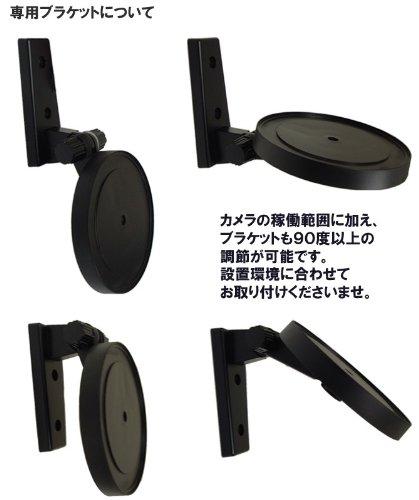 暗視対応・遠隔操作可能!ネットワークカメラ IPカメラ【ホワイト】◇FS-IPC100