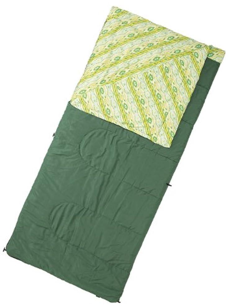 共産主義者最悪辛なコールマン 寝袋 コージースリーピングバッグ/C10 [使用可能温度5度] グリーン 2000016927