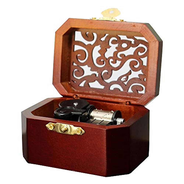 木製八角形Carving音楽ボックス: :メインテーマ