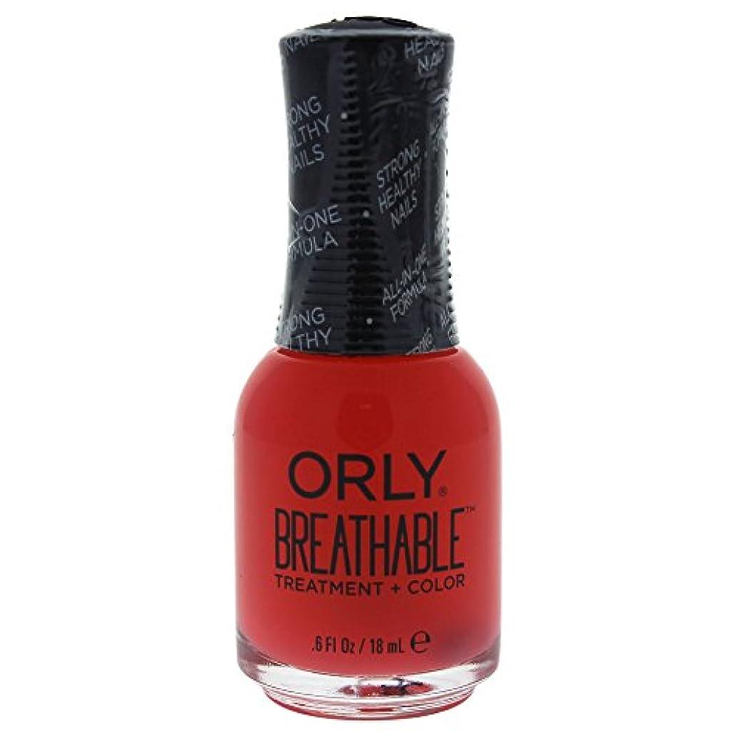 臭い用量相関するOrly Breathable Treatment + Color Nail Lacquer - Sweet Serenity - 0.6oz / 18ml
