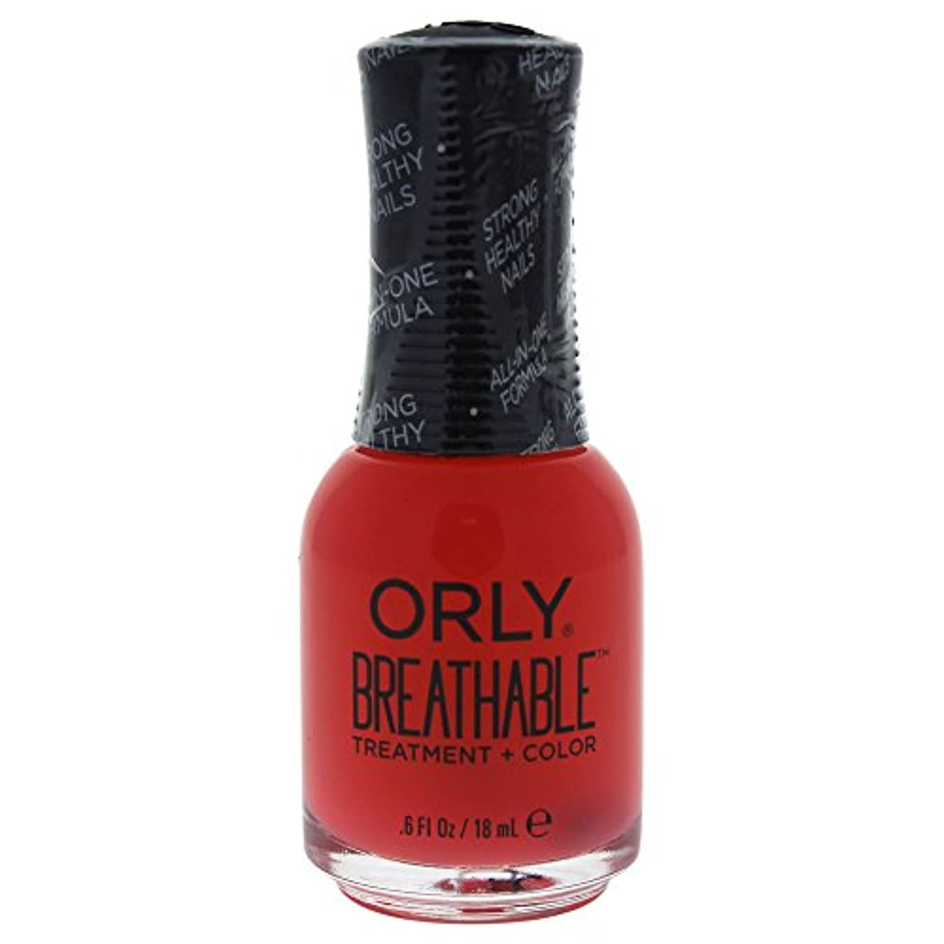 スナッチボーナス強化Orly Breathable Treatment + Color Nail Lacquer - Sweet Serenity - 0.6oz / 18ml