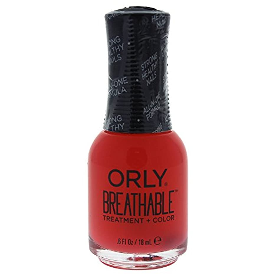 スカート荒涼とした同僚Orly Breathable Treatment + Color Nail Lacquer - Sweet Serenity - 0.6oz / 18ml