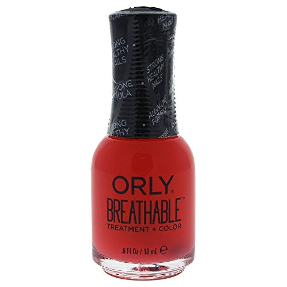 特異性ベーリング海峡もっとOrly Breathable Treatment + Color Nail Lacquer - Sweet Serenity - 0.6oz / 18ml