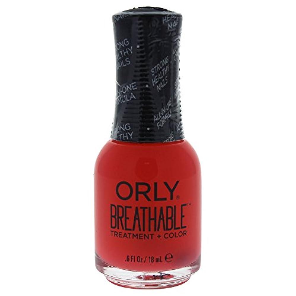 開いた愛されし者励起Orly Breathable Treatment + Color Nail Lacquer - Sweet Serenity - 0.6oz / 18ml