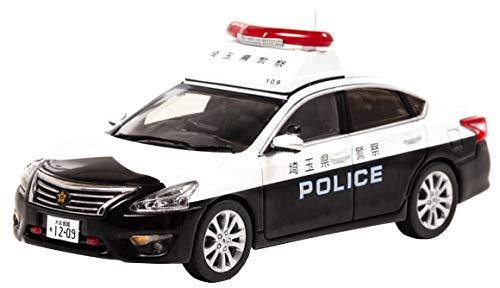 1/43 RAI'S 日産 ティアナ (L33) 2018 埼玉県警察地域部自動車警ら隊車両(109)