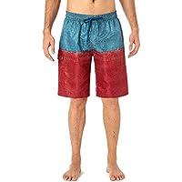 NAVISKIN Men's Cargo Swim Trunks Shorts Quick Dry Beach Board Shorts Cargo Pockets