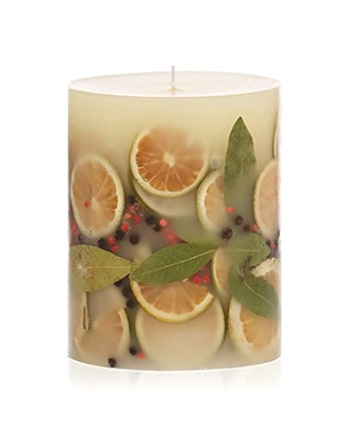 割る頭十分にロージーリングス ボタニカルキャンドル ラウンド ベイガーランド ROSY RINGS Round Botanical Candle Round – Bay Garland