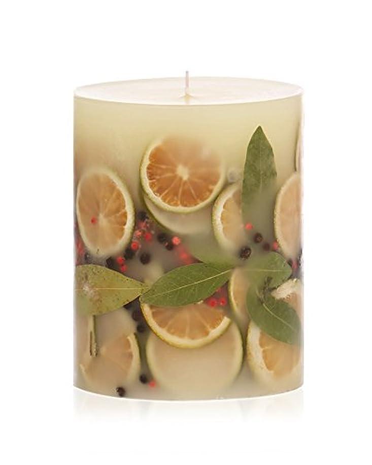 蜜アンタゴニスト高潔なロージーリングス ボタニカルキャンドル ラウンド ベイガーランド ROSY RINGS Round Botanical Candle Round – Bay Garland