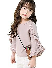 6bb5ea0ee008a Amazon.co.jp  140 - Tシャツ・カットソー   ガールズ  服&ファッション小物
