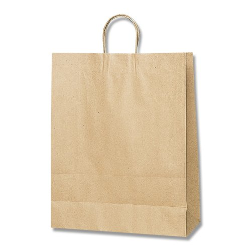 ヘイコー 手提 紙袋 25CB 2才 未晒 クラフト 32x11.5x41cm 50枚