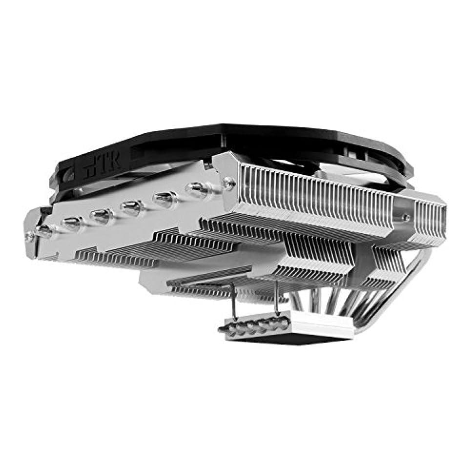 微視的廃止バージンThermalright CPUクーラー トップフロー ヒートパイプ構造 ロープロファイルデザイン 全高73mm AXP-200 MUSCLE 日本正規代理店品