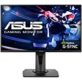 """ASUS VG258QR 24.5"""" Full HD Gaming Monitor, 0.5ms*, 165Hz (above 144Hz), G-SYNC Compatible, Adaptive Sync, Black"""