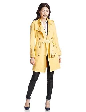 (ダブルスタンダードクロージング)DOUBLE STANDARD CLOTHING トレンチコート 2714041 B イエロー FREE