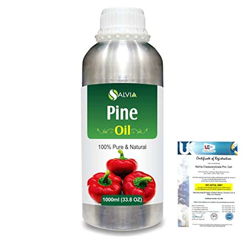 高く日付炭水化物Pine (Pinus Sylvestris) 100% Natural Pure Essential Oil 1000ml/33.8fl.oz.