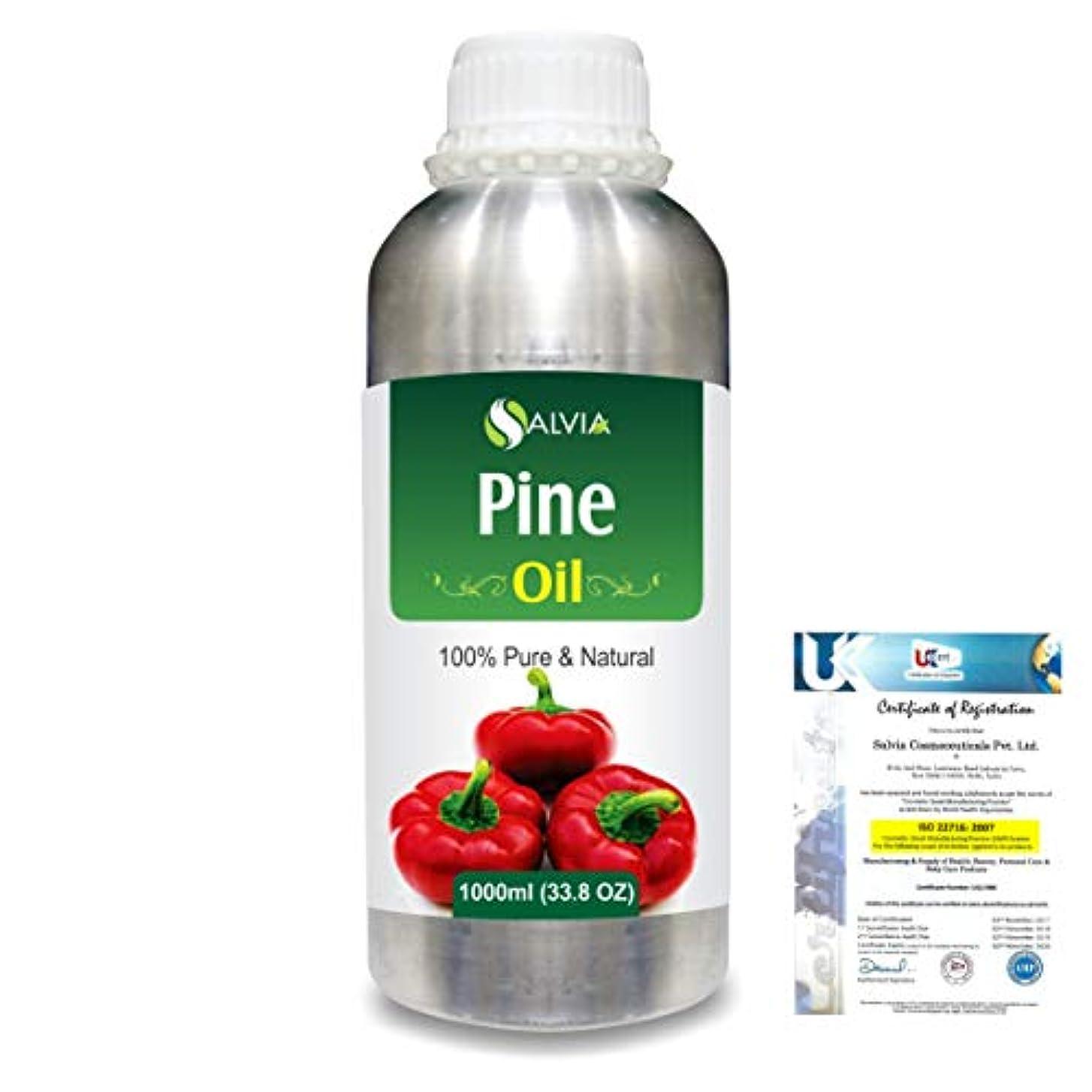 ミネラル中断吹雪Pine (Pinus Sylvestris) 100% Natural Pure Essential Oil 1000ml/33.8fl.oz.